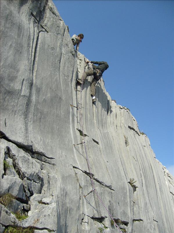 escalade•Chloé•Tim•Pierre du Moëlle•2008