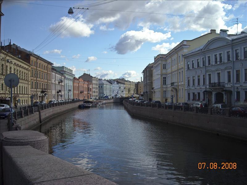 Petersburg's canals