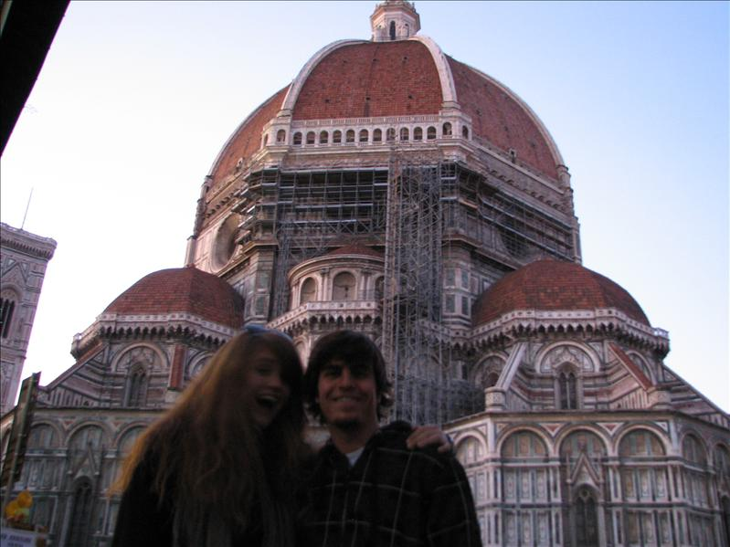 ian and i at the duomo