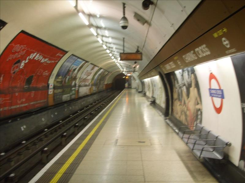 charing cross underground station - 1
