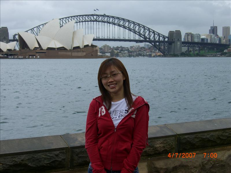 at another side of opera house