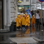 little nuggets in raincoats!