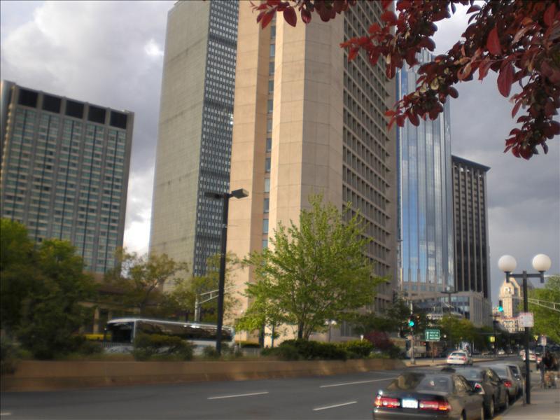 prudential ook naast hotel