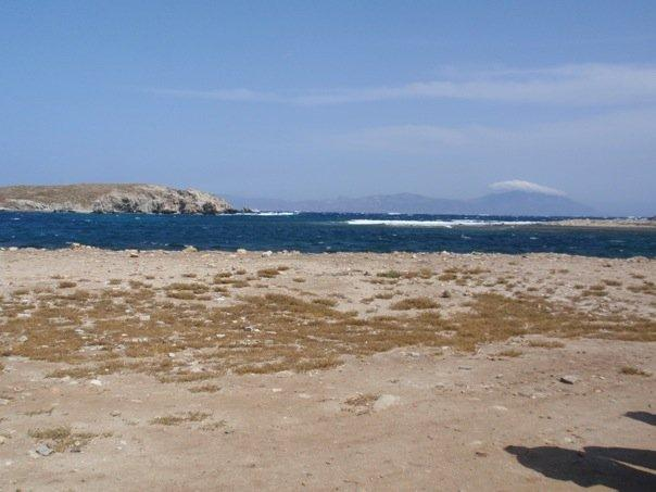 the first views of delos.