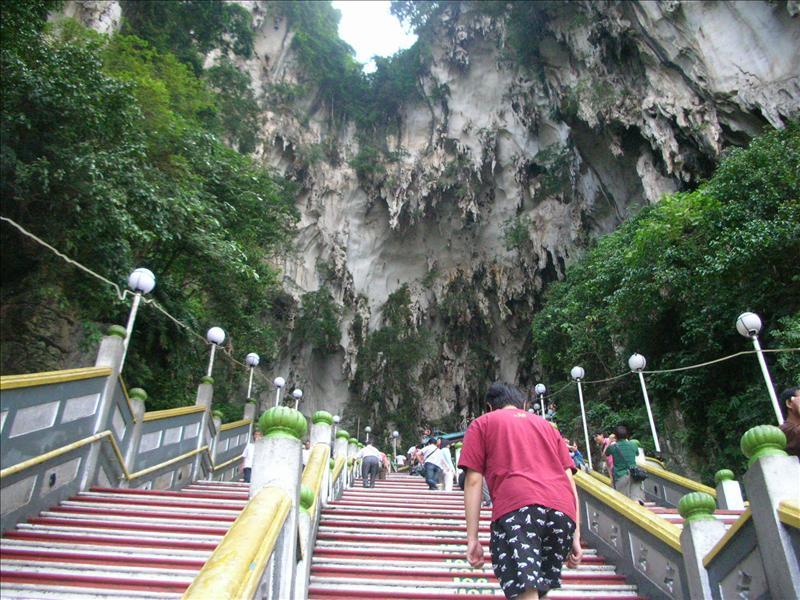 黑風洞Batu Caves(上去途中)