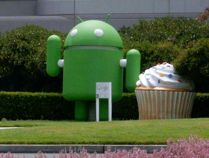 Google Android and Cupcake