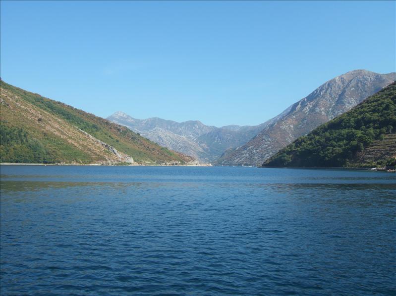 From the Ferry across the Boka Kotorska