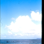 otro B 52 desde la playa