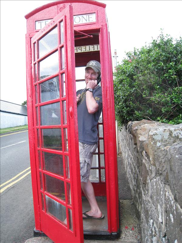 A UK phonebooth in Ireland!