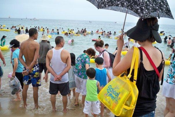 07/27 - busan: haeundae beach -