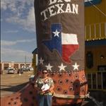 """At the """"Big Texan"""" Resturant"""
