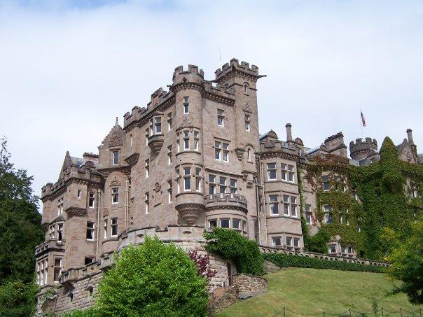 SKIBO CASTLE, DORNOCH, AUG 2005
