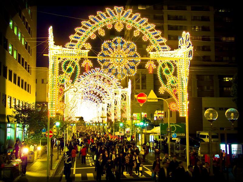 Luminarie, Kobe