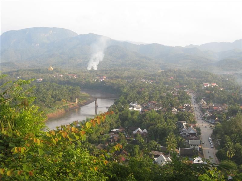 Luang Prabang from Phu Si Hil