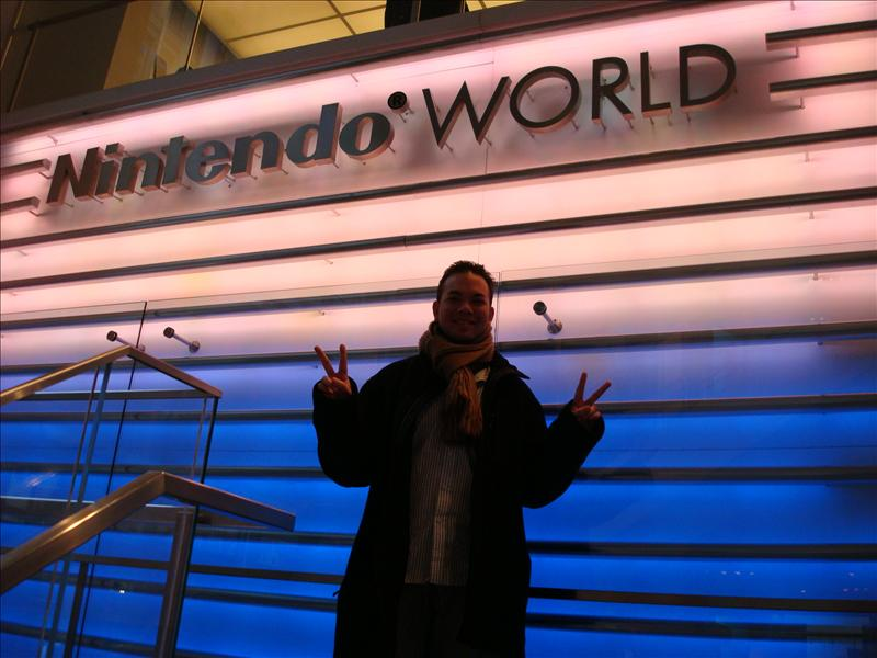 Brent at Nintendo World
