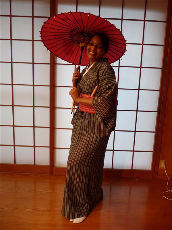me in kimono and parasol