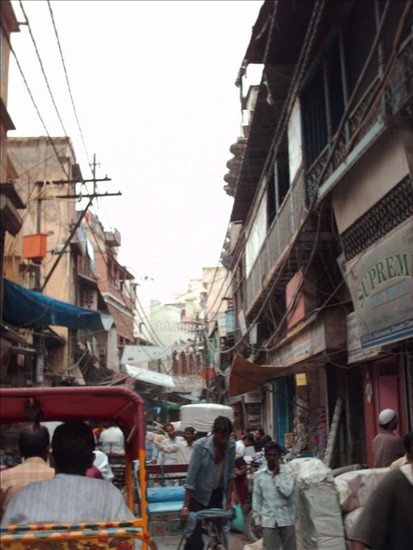 Deeper in old Delhi