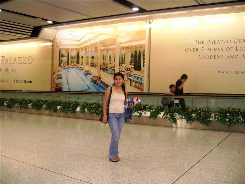 Inside MTR Central Station...