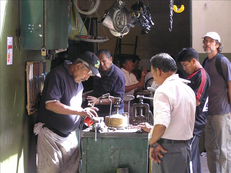 Traditional Market in Arequipa