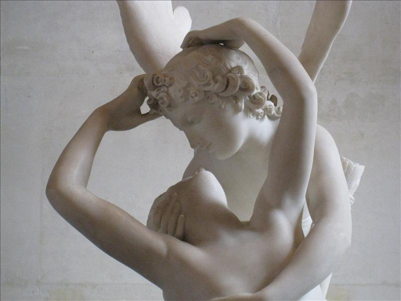 Eros and Psyche....LOVE this statue