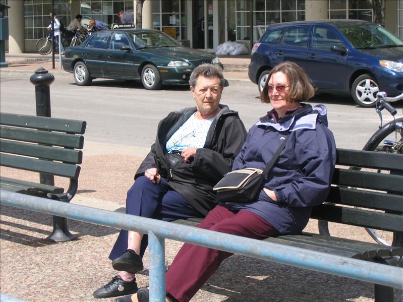 Margaret & Wendy - Toronto 1