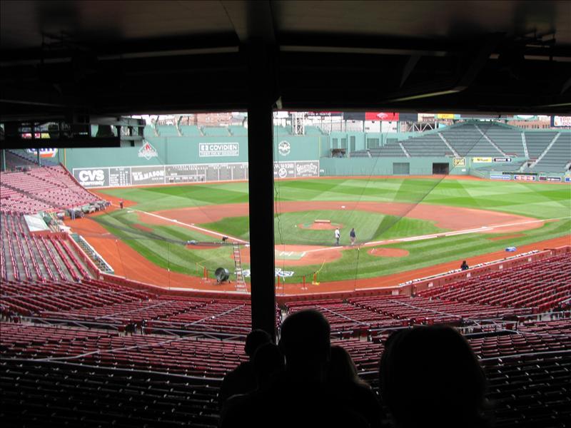 Fenway Park, het park waar de Red Sox spelen