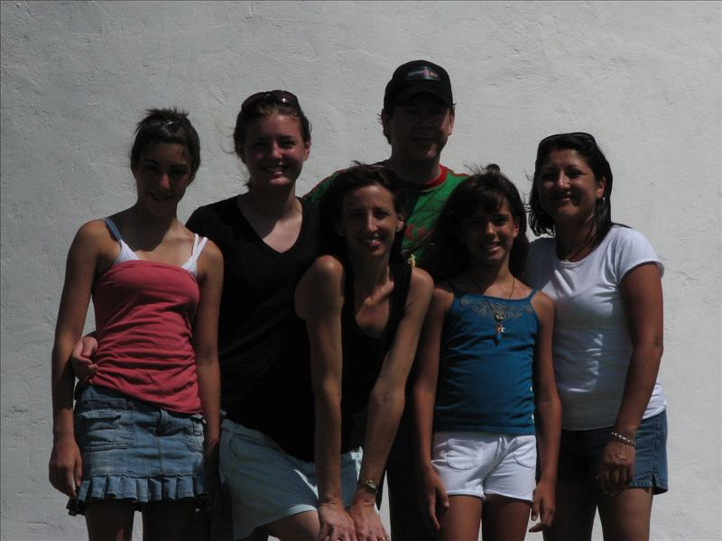 Erika, Kelley, Alexis, Wes, Vic and Maria - Port Isabel Light House
