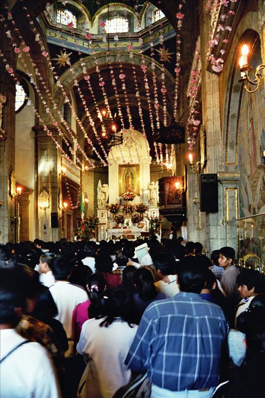 inside Capilla del Cerrito