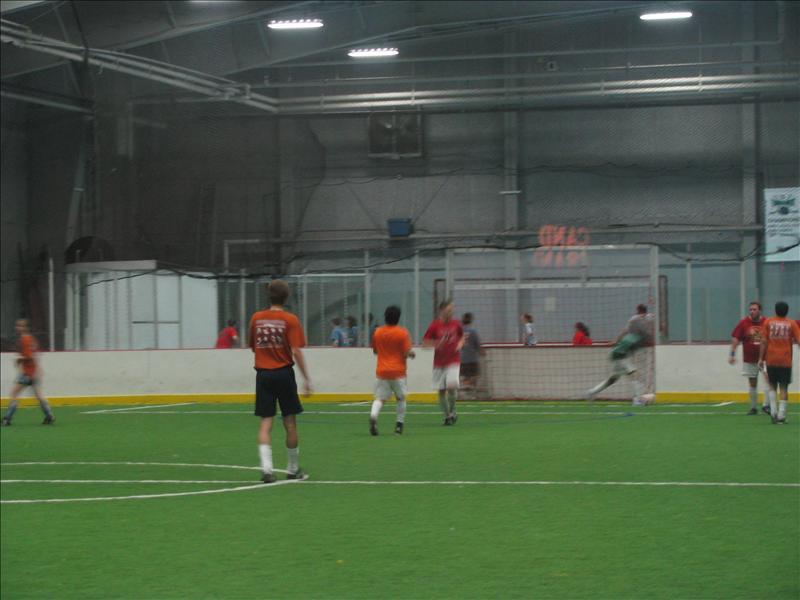 mijn voetbal (in 't Oranje)