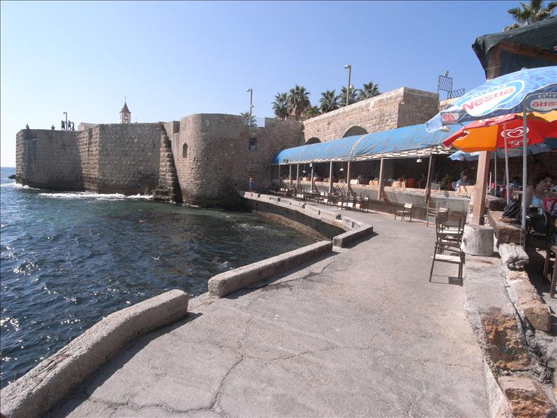 sea side old fortress Akko (Acre)