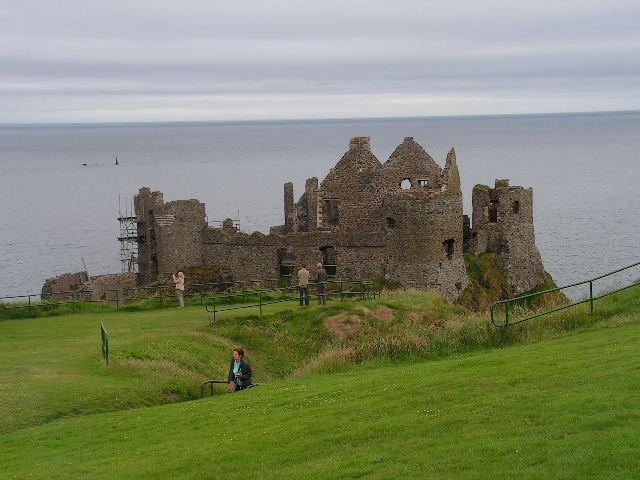 Dunluce Caslte Northern Ireland