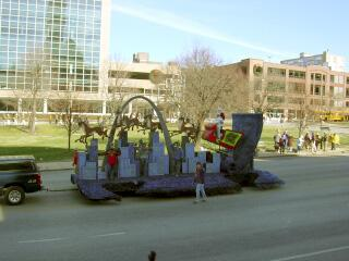 mini Arch float?