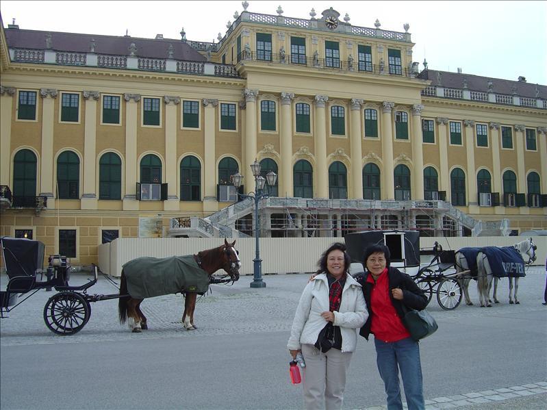 Schonbrun Palace in Vienna of Austria