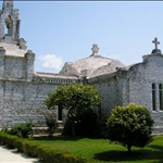 Church at A Toxa is completely covered with scallop shells.