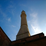 One of the tower of Ayasofya (St. Sophia)
