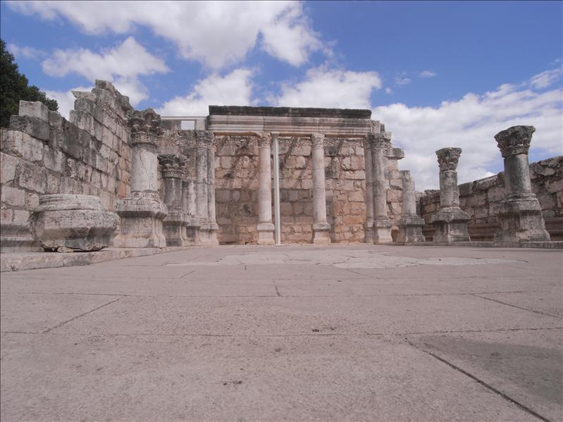 Ruins of the synagogue