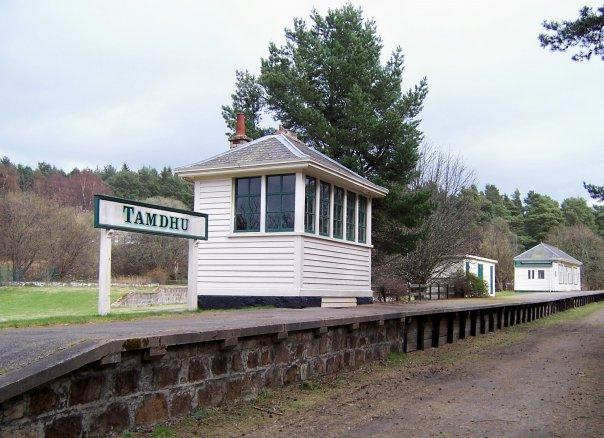 TAMDHU STATION, SPEYSIDE WAY, APR 2007