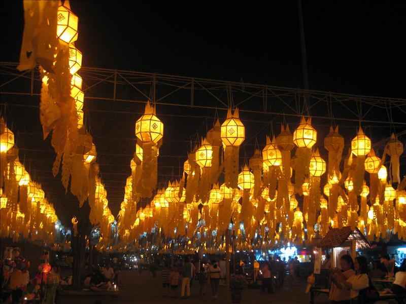 Festival of Lights in Chiang Mai