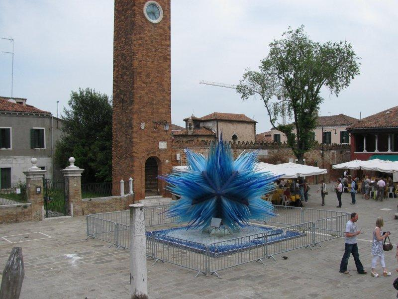 Next stop glass sculpture at Murano....