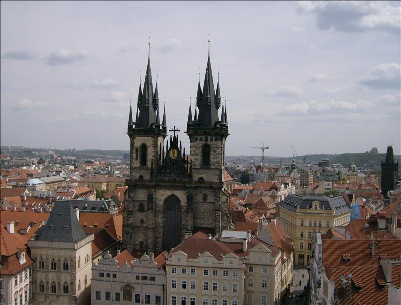 Prague Tyn church