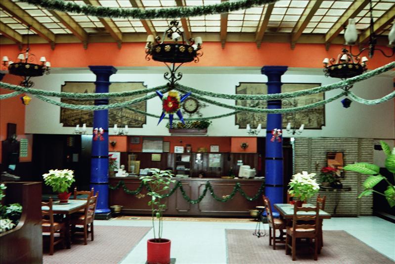 inside hotel Isabella