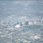 """""""The Strip"""" from the air as we came into land"""