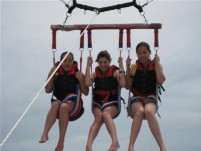 parasailing!