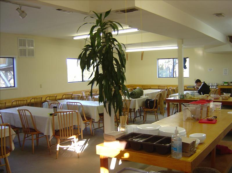 inside dining room