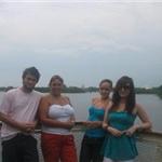 Me, Mummy Sue, Flo (Cousin), Amy (Girlfriend)