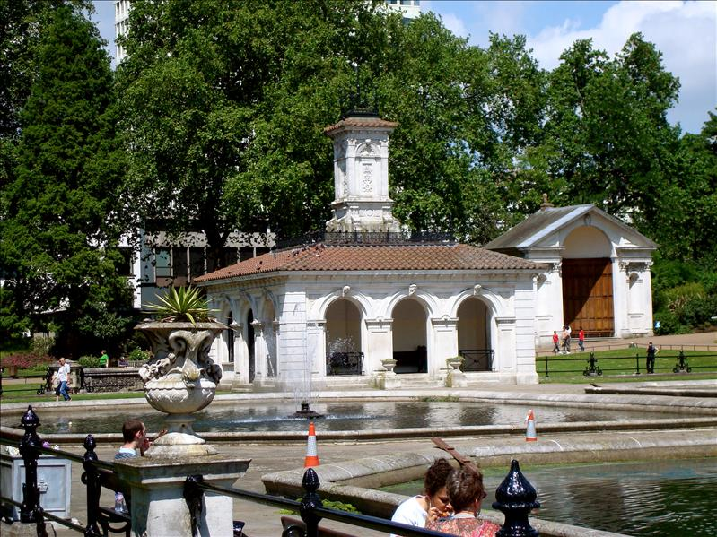Italian Fountains at Kensington Garden