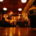 Guinness in a bar