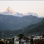 Fishtail, late evening, Pokhara