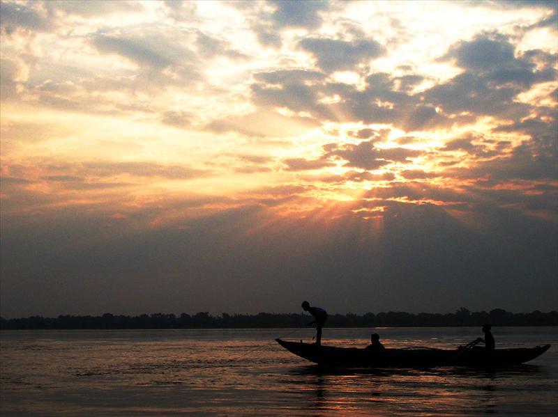 Sunrise of Ganga (India)