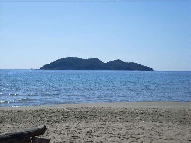 view from dafne beach zante